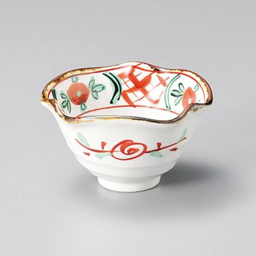 15210-450 赤絵間取り小鉢|業務用食器カタログ陶里30号