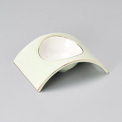 15227-180 若草アーチ型小付|業務用食器カタログ陶里30号