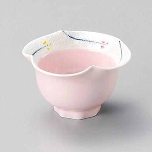 15228-400 小花ラスター花渕小中付(ピンク)|業務用食器カタログ陶里30号