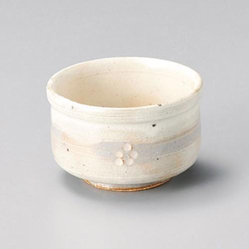 15240-180 手造り粉引華紋(土物)小付鉢 業務用食器カタログ陶里30号