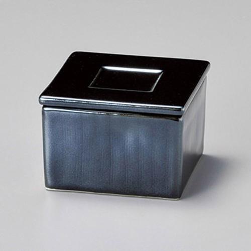 16201-010 プラックプラチナ角型蓋物 業務用食器カタログ陶里30号