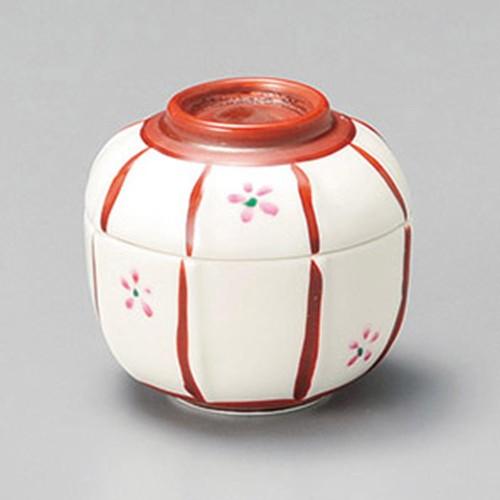 16204-220 ボンボリ蓋付珍味(大) 業務用食器カタログ陶里30号