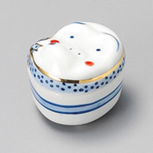 16210-370 ひょっとこ蓋付珍味 業務用食器カタログ陶里30号