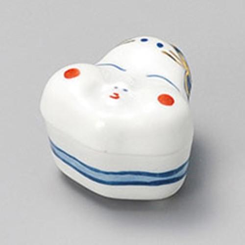 16211-370 おかめ蓋付珍味 業務用食器カタログ陶里30号