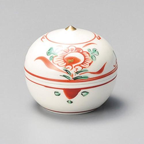 16216-050 赤絵花珍味(小) 業務用食器カタログ陶里30号