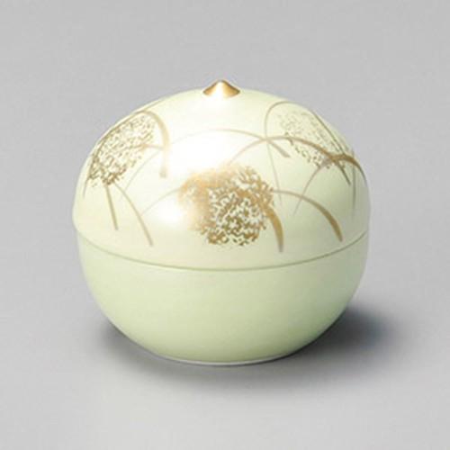 16219-050 グリーン芦珍味(大) 業務用食器カタログ陶里30号