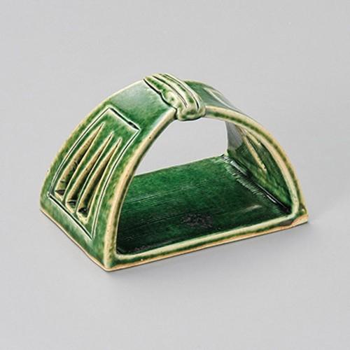 16301-180 オリベかまくら手さげ皿(小)|業務用食器カタログ陶里30号