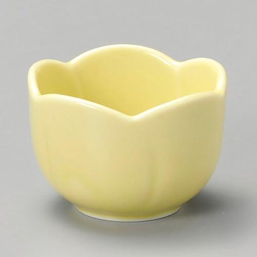 16303-310 梅型珍味イエロー|業務用食器カタログ陶里30号