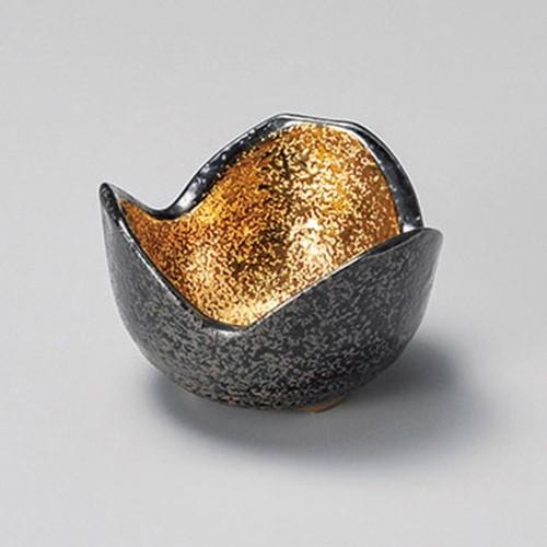 16403-460 黒ちらし内金塗3.0三つ切形丼|業務用食器カタログ陶里30号