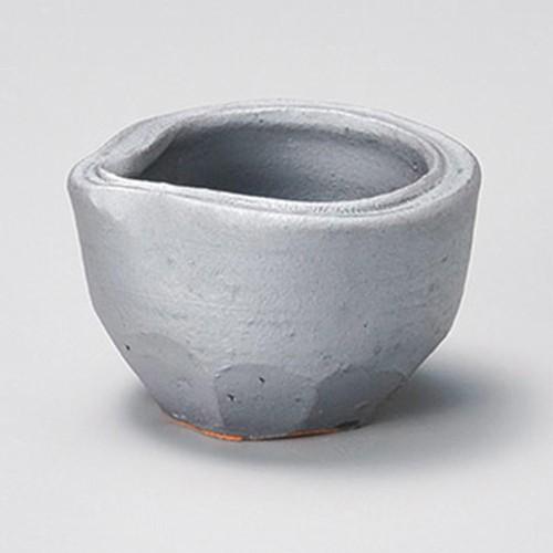 16422-180 鉄釉片口ソギ鉢|業務用食器カタログ陶里30号