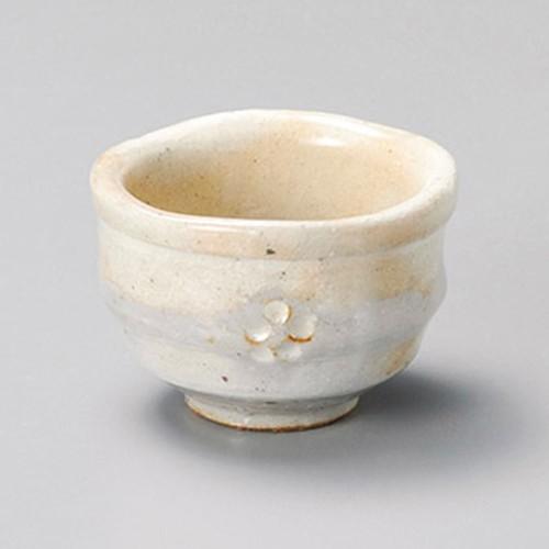 16423-180 手造り粉引華紋(土物)珍味|業務用食器カタログ陶里30号