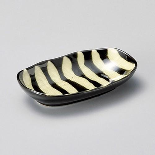 17134-320 深世界楕円豆皿(珍味)|業務用食器カタログ陶里30号