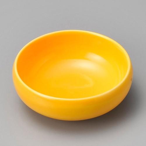 18014-030 濃黄釉鉄鉢小鉢 業務用食器カタログ陶里30号
