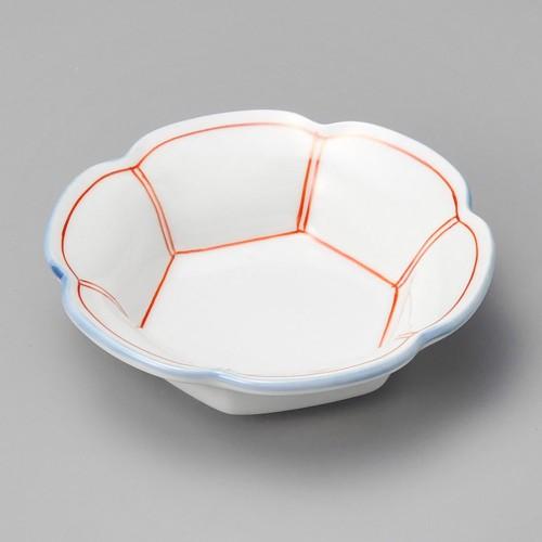 18023-080 赤筋入六ツ山小鉢 業務用食器カタログ陶里30号