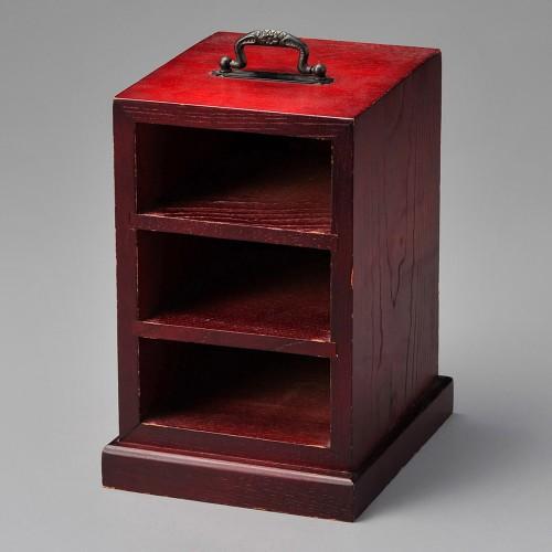 18101-310 溜松花堂箱のみ(木製品) 業務用食器カタログ陶里30号
