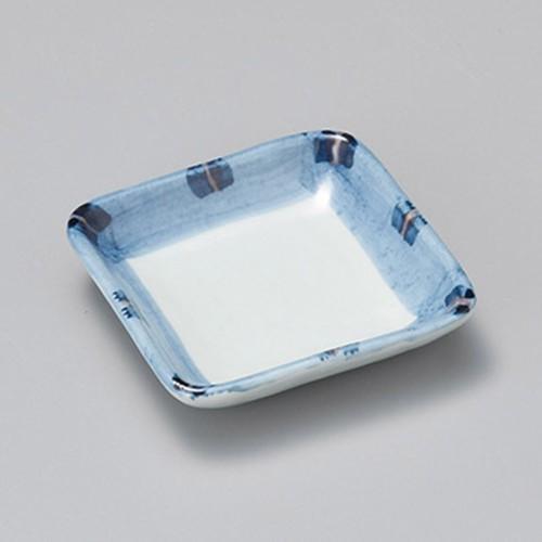 19119-050 はなやぎ正角小皿|業務用食器カタログ陶里30号