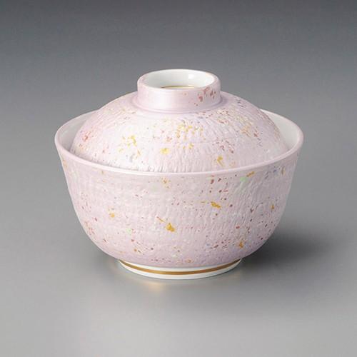 19203-010 紫とちり煮物碗 業務用食器カタログ陶里30号