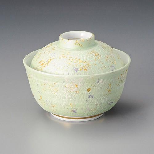 19204-010 緑とちり煮物碗 業務用食器カタログ陶里30号