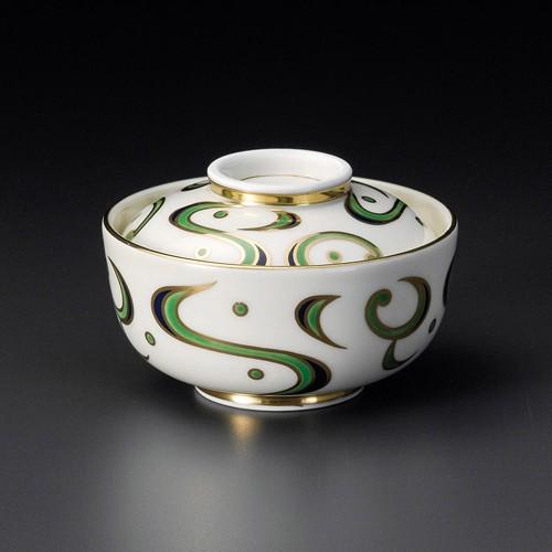 19214-320 金唐草円菓子碗 業務用食器カタログ陶里30号
