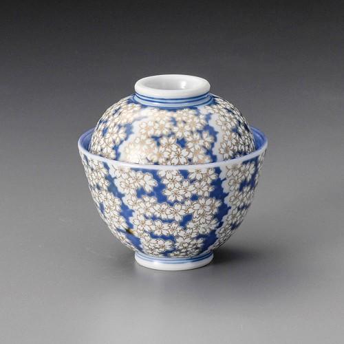 19215-180 京桜花円菓子碗 業務用食器カタログ陶里30号