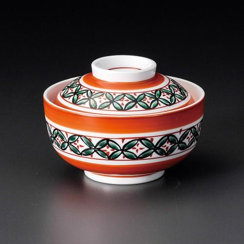 19217-320 赤絵七宝円菓子碗 業務用食器カタログ陶里30号