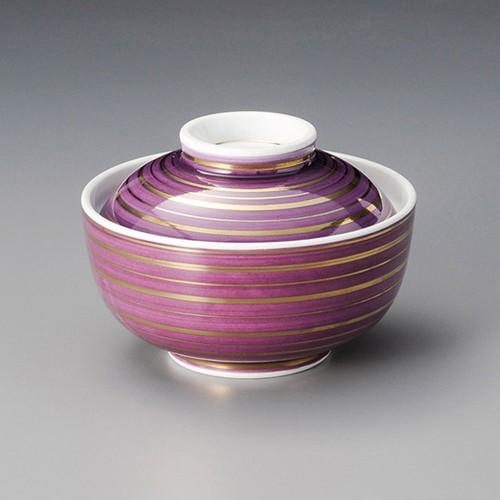 19218-330 紫金駒筋円菓子碗 業務用食器カタログ陶里30号