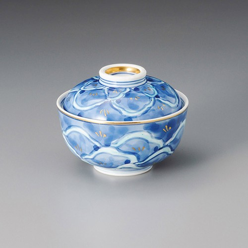 19304-010 濃松小紋円菓子碗 業務用食器カタログ陶里30号