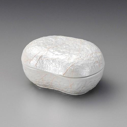 19811-010 ラスターピンク一珍石面蓋物|業務用食器カタログ陶里30号