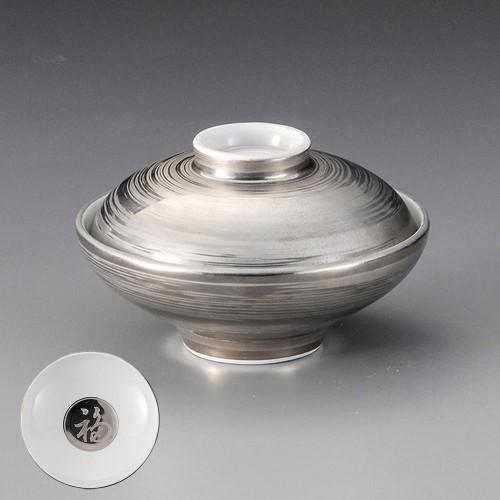 19815-400 プラチナ銀刷毛姫碗|業務用食器カタログ陶里30号
