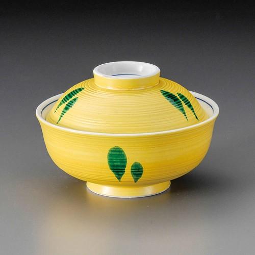 19816-120 黄交趾水玉小蓋向|業務用食器カタログ陶里30号