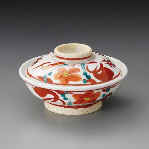 20011-450 志野赤絵蓋向付|業務用食器カタログ陶里30号