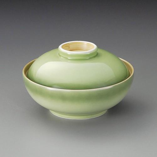 20015-320 緑彩蓋向(丸型)|業務用食器カタログ陶里30号