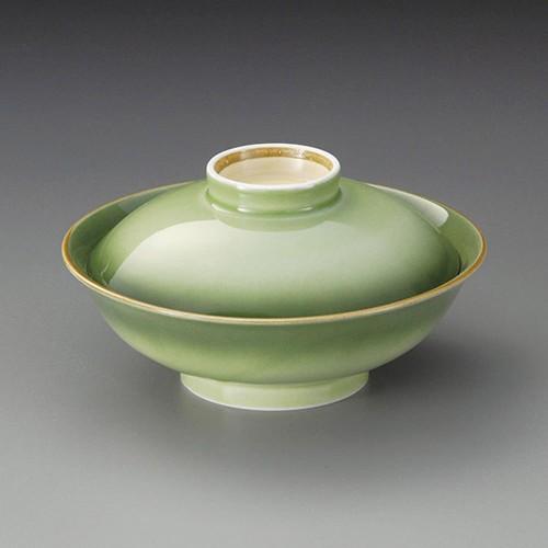 20016-310 緑彩平蓋向|業務用食器カタログ陶里30号