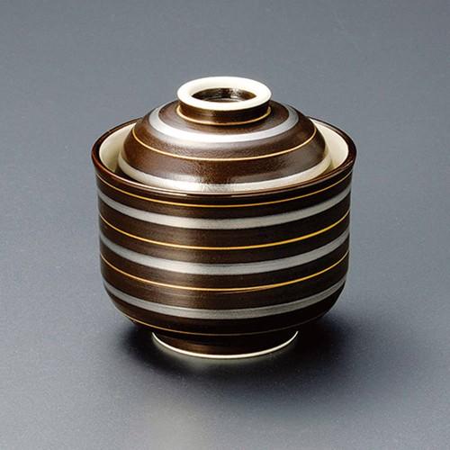 20114-450 いぶし金銀彩一口碗|業務用食器カタログ陶里30号