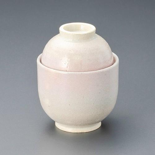 20115-010 荒土 ピンク吹小吸碗|業務用食器カタログ陶里30号