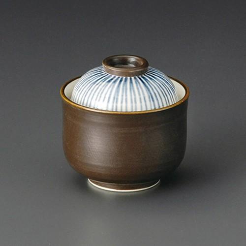 20126-450 いぶしゴス十草一口碗|業務用食器カタログ陶里30号