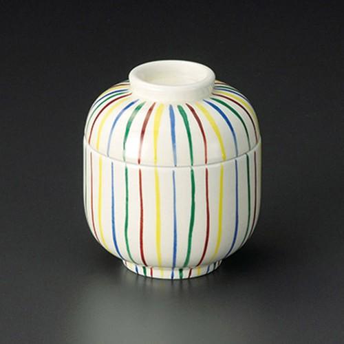 20209-230 四色十草ミニむし碗 業務用食器カタログ陶里30号