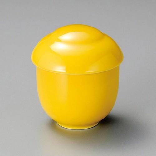 20225-120 黄吹玉形むし碗 業務用食器カタログ陶里30号