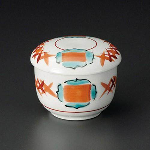 20226-320 赤絵連鎖むし碗 業務用食器カタログ陶里30号