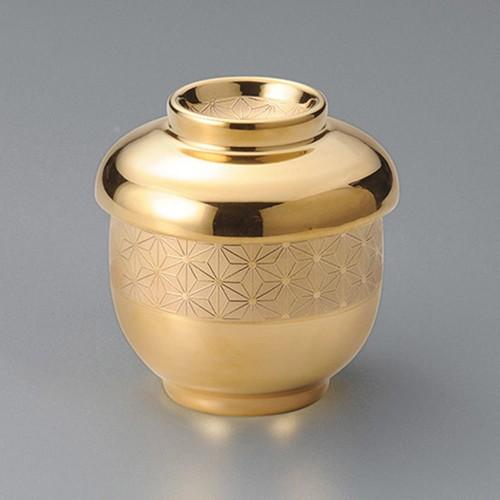 20501-210 黄金彩むし碗(蓋)ツマミ付き|業務用食器カタログ陶里30号
