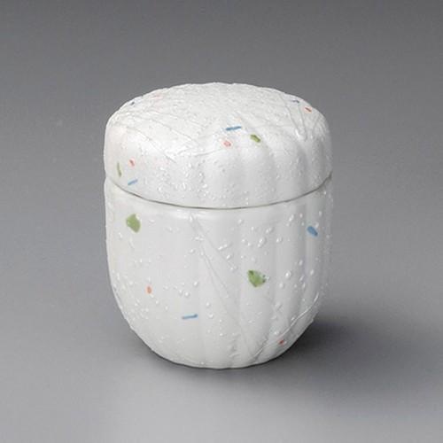 20509-050 ラスター点紋菊型むし碗|業務用食器カタログ陶里30号