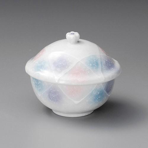 20521-180 淡雪 三色吹むし碗|業務用食器カタログ陶里30号