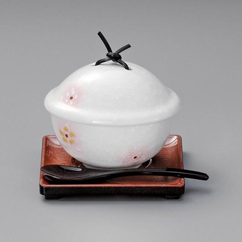 20522-180 淡雪ピンク吹小花むし碗|業務用食器カタログ陶里30号