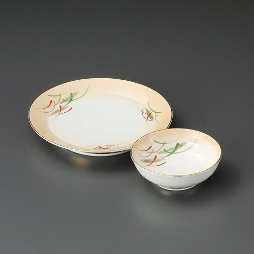 21006-080 加茂川丸天皿|業務用食器カタログ陶里30号
