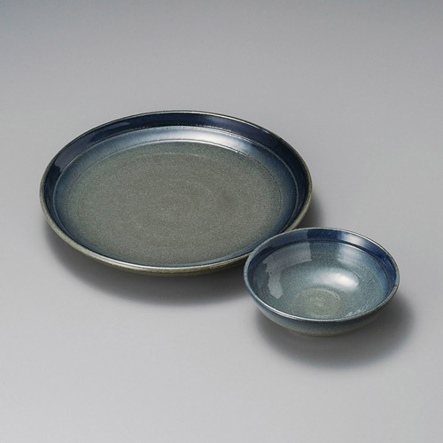 21027-120 笠間暈7.0丸皿|業務用食器カタログ陶里30号