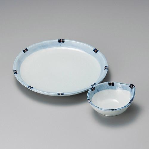 21030-050 はなやぎ深口6.5皿|業務用食器カタログ陶里30号