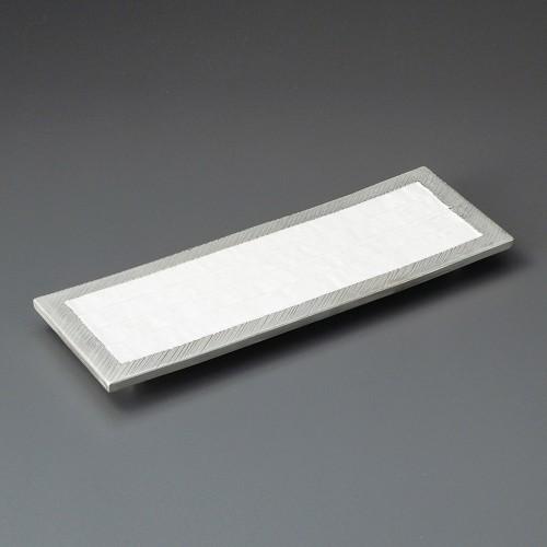 21707-180 プラチナ長角皿|業務用食器カタログ陶里30号