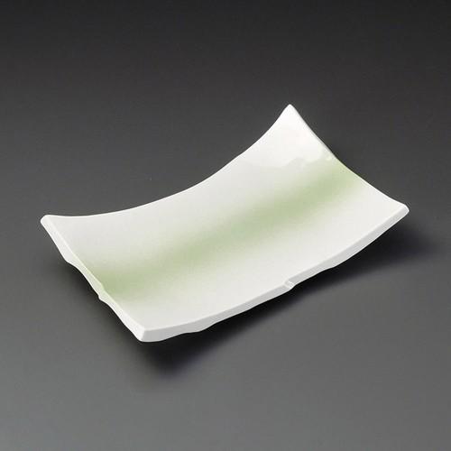 23303-180 ヒワ吹8.0ちぎり長角皿|業務用食器カタログ陶里30号