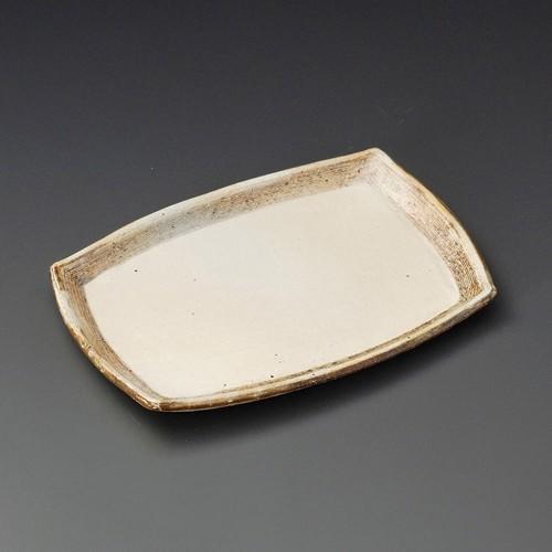 23307-430 渕荒横彫長方皿(中)|業務用食器カタログ陶里30号