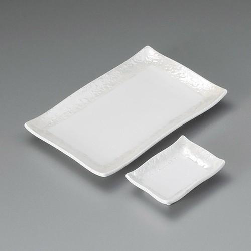 25001-410 パール長角焼物皿|業務用食器カタログ陶里30号